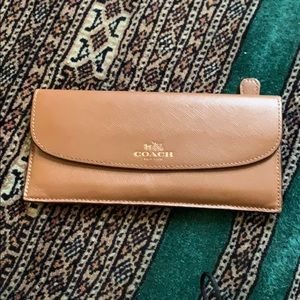 Brown AUTHENTIC coach wallet